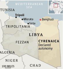 Libya eastern breakaway