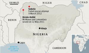Nigeria rescue attempt