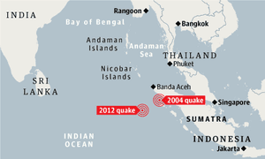 Indonesia lifts tsunami alert after 8.6-magnitude earthquake | World news |  The Guardian
