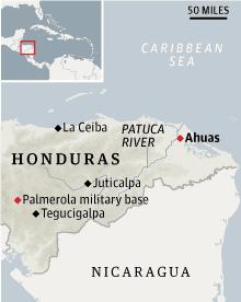Honduras locator