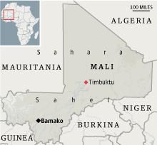 Timbuktu locator
