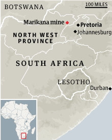 South Africa mine