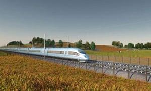 HS2 high-speed rail network