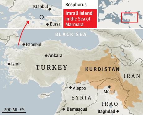 Kurdistan_Turkey_map