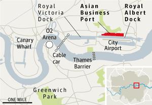 Royal Albert Dock development