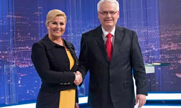 CROATIA-PRESIDENTIAL ELECTIONS
