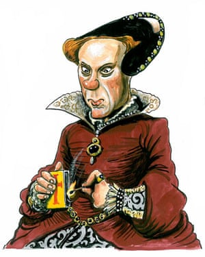 Kings and Queens: Mary enjoyed gambling a vice she inherited from her father, Henry VIII