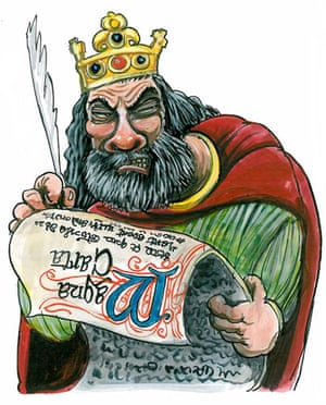 Kings and Queens:  John known for overindulgence, died from dysentry the result of gluttony