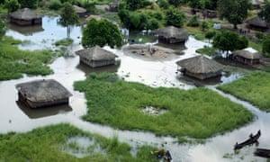 Zambia floods Jan 2008