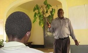 Katine cassava farmer train