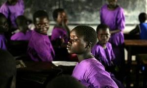 Katine primary school girl