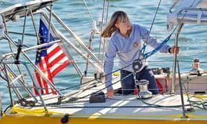 Abby Sunderland, teenage sailor