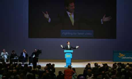 The Liberal Democrats Party Conference -Day 1