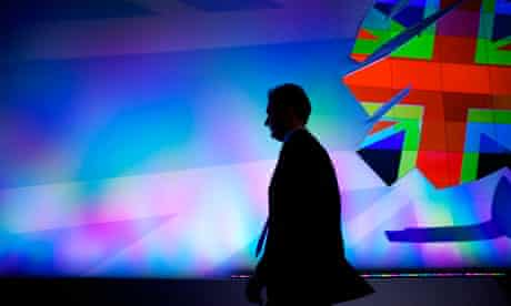 Chancellor George Osborne at the Conservative party annual conference