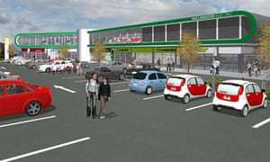 The proposed Hollinwood Electric Pod in Oldham