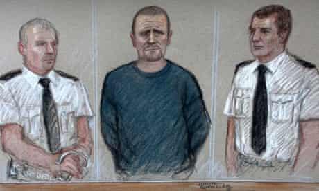 Mark Bridger appears in court
