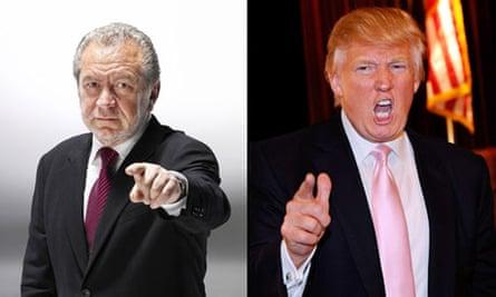 Donald Trump and Lord Sir Alan of Sugar
