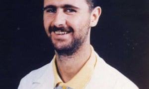 A picture of Bashar al-Assad