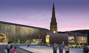 Illustration of Cornerstone, a new development at Square Chapel, Halifax