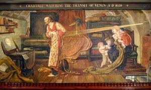William Crabtree watching the transit of Venus in 1639