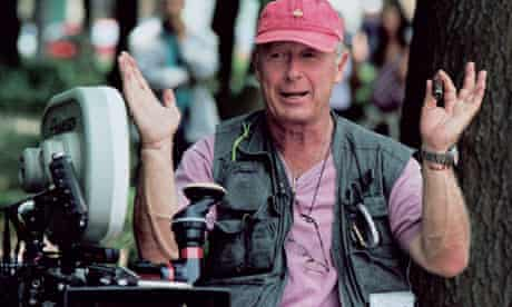 British-born director Tony Scott on the set of his film 'Man On Fire' in Mexico City, 2003