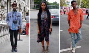 Composite of street style from One Nigerian Boy