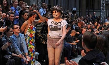 LFW: Vivienne Westwood show