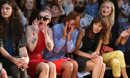 LFW: House Of Holland front row