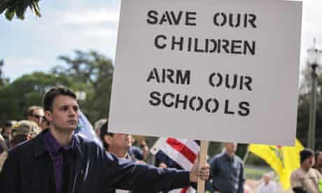 Ben Ernst from Pontchatoula wants to see armed guards in every school