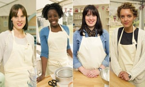 The semi-finalists of Great British Bake Off