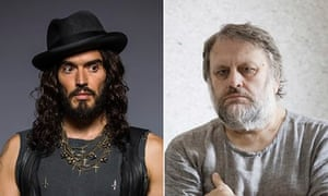 """Russell Brand and Zlavoj Zizek"""