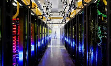 Google's data centre in Council Bluffs, Iowa