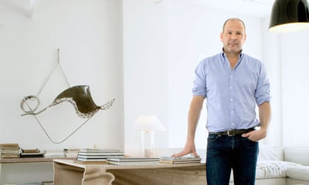 Executive creative director Reed Krakoff in his Manhattan office