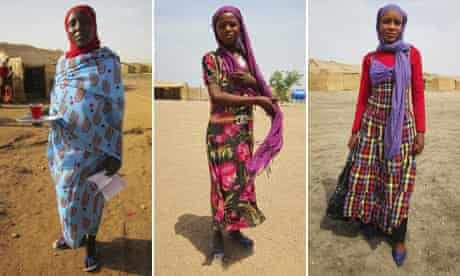 Examples of Darfur fashion from The Darfur Sartorialist