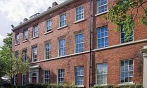 Redbrick houses at Leeds University
