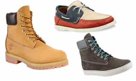 Timberland shoe composite