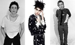 Richard Hell, Karl Lagerfeld and John Lydon