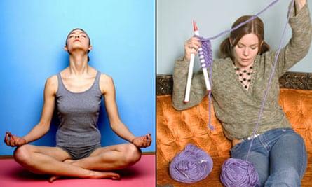 Yoga Knitting