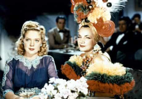 Carmen Miranda in a scene from the film 'Week-End In Havana' 1941.