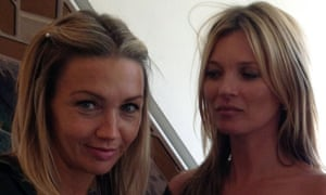 Jess Cartner-Morley and Kate Moss