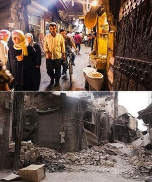 Souk Bab Antakya in Aleppo