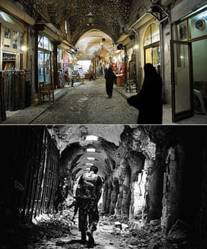 syria 39 s heritage in ruins before and after pictures world news the guardian. Black Bedroom Furniture Sets. Home Design Ideas