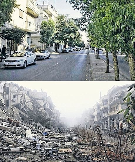 Syria's heritage in ruins: before-and-after pictures   World
