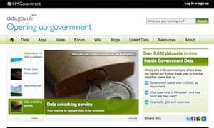 Data.gov.uk March 2011