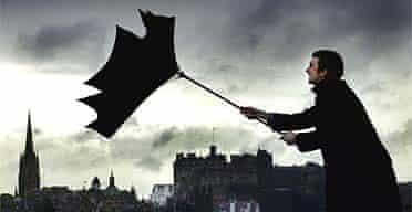 Strong winds in Edinburgh