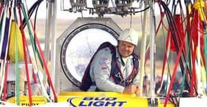 Balloonist Steve Fossett