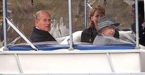 The Queen and the Duke of Edinburgh in Winnipeg, Manitoba