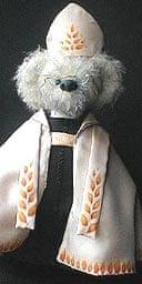 Teddy bear modelled on the Archbishop of Canterbury, Dr Rowan Williams