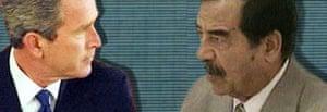 Bush and Saddam