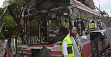 Suicide bomb in Haifa